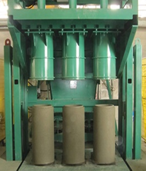 เครื่องทำท่อคอนกรีตผลิตทีละ 3 ท่อน